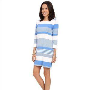 Lilly Pulitzer Bay Blue Marlowe T-Shirt Dress